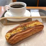 カスカード ゼスト御池店:鹿児島県産スイートポテトデニッシュとコーヒー