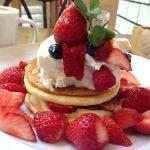 j.s. pancake cafe マークイズみなとみらい店/ストロベリーミルフィーユパンケーキ500%苺マシマシ🤗5/31迄ストロベリーフェア開催中なので苺好きさんは急げ💨