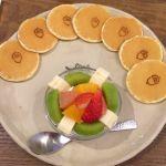 リトルツリー ミニパンケーキ♪フルーツ生クリームも美味しかったー!
