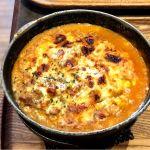 こちらは、モッツアレラチーズのビーフカレードリア!