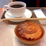 カスカード ゼスト御池店:クイニーアマンとコーヒー