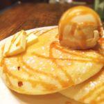 塩バターキャラメルのパンケーキ