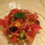 サンバレイ 大井町店 彩り野菜とトマトの冷製スパゲティ