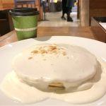 ホノルルコーヒー グランフロント大阪店:マカデミアナッツクリームパンケーキとコナブレンドコーヒー