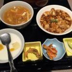 金香楼   壺煮の定食セット   壺スープのセットにスープが加わりました