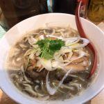 煮干麺 月と鼈 #ramen #ラーメン 濃厚煮干そば(並盛)¥880