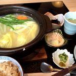 博多 華味鳥 銀座二丁目店 ランチの水炊き〜♪コラーゲンたっぷり、上品な味。
