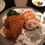 名物!イカの天ぷらとかぼちゃの天ぷら♡廣東料理 民生 ヒルトンプラザウエスト店