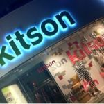 kitson ラフォーレ原宿店。ここがかの有名なエリカ様が大暴れされた場所です!このピンクのバックよく見るかも。