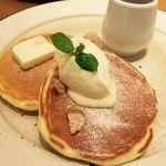 メープルシロップと発酵バターのパンケーキ