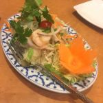 ヤムウンセン。辛い春雨サラダ。辛いけどまた食べたくなる😂チャオタイ 横浜ベイクォーター店