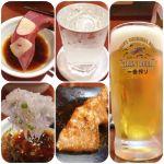 海ぼうず アスティ店     浜松 華の舞 純米超辛口✨ 生ビールだけでは役不足。注ぎながら「頑張ってこぼしまーす」って、心掛けは良いけど言葉は余計やろ、黙ってこぼしなさい😊✌