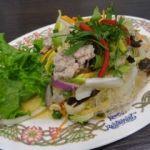 ゲウチャイ 成田店   ヤムウンセン(918円)  春雨入りサラダ。目黒に在ったゲウチャイとは無関係らしい。