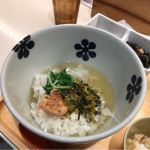 炙り明太子と高菜のだし茶漬け  @だし茶漬け えん 新宿ルミネ店