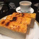 丸福珈琲店 羽田空港店  想定外のチーズトースト