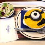 スタジオ・スターズ・レストラン  ミニオン シーフードドリア(サラダ付き)1790円(^.^)