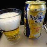 北陸新幹線・グランクラス  ビール   行きは流石に飲めませんでしたが、帰りは頂きました。
