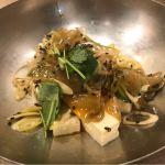ザーサイ豆腐@long-hu dining 博多1番街店。