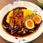スコッチエッグ オムライス / 今週OPENしたばかり♪( ´▽`) ◇ egg egg キッチン 新百合ヶ丘エルミロード店