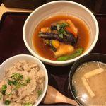 豆富と野菜の煮おろし定食。@大かまど飯 寅福