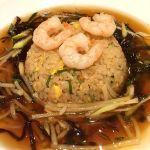 あんかけ炒飯。ボチボチかな♪( ´▽`)上海常  イオン倉敷店