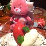 横浜 うかい亭 九州産あまおうと練乳のソルベ美味しすぎる~(♥ó౪ò)