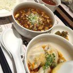 @陳建一麻婆豆腐店 グランデュオ立川店ランチに行きました。水餃子のタレ旨し!