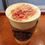 さくらチョコレートラテ@スターバックス・コーヒー 秋葉原駅前店