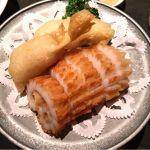 名物、イカの天ぷら。廣東料理 民生 ヒルトンプラザウエスト店