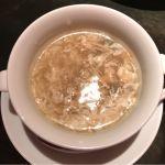 スープ。廣東料理 民生 ヒルトンプラザウエスト店
