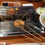 チーズドーナツがスキ( ´ ▽ ` )@神楽食堂 串家物語 イオンモール川口キャラ店