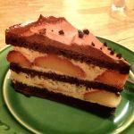 *フォレ・ノワール・オ・フレーズ*ちょっぴりビターなチョコレートケーキ♪494