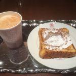 ANTICO CAFFE AL AVISフレンチトースト&カフェラテ