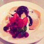 チョコレートベリーパンケーキ♡