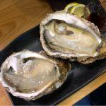 @中板橋  岩牡蠣  大きくてクリーミー。これが1つ400円以下で食べられる幸せ。