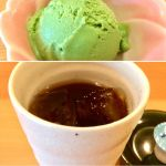愛知川ふれあい本陣 なごみカフェ アイスティ+ミニアイス(軽食セットで注文すると割引とミニアイス付き)