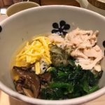 奄美大島鶏飯風  いいお出汁です  @だし茶漬け えん 新宿ルミネ店