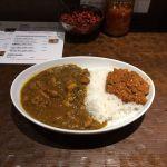 カレー専門店 フィッシュ。チキンカレーとキーマカレーのコンビ。#カレー #curry #フィッシュ #六本木