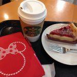 ディカフェのカフェミストとチェリーパイ@スターバックス・コーヒー 秋葉原駅前店