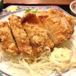庄屋 ジャスコ八代店  チキン南蛮ランチ。これに味噌汁と小鉢とご飯で580円