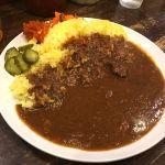 月曜日のお昼は神戸・三宮のサヴォイでビーフカレーを頂きました!