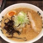 宮本 西池袋店 #ramen #ラーメン 背脂味噌¥850大盛り(サービス)