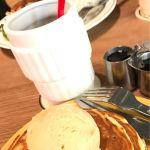 Glorious Chain Cafe昨日はここ♡メープルもう1個追加して貰った♡キャラメルアイス乗せ♡