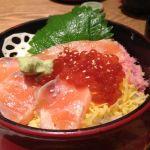 すし京辰 東京駅サウスタワー店今日の昼飯。イクラが美味