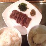 伊達の牛たん本舗 仙台駅地階 エスパル店牛たん定食