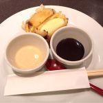 新宿つな八 オペラシティ店 アイスクリームの天ぷら