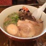元祖博多だるま 博多デイトス店 #ramen ということで、お昼は博多とんこつラーメン(๑´ڡ`๑)