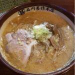品川甚作本店 #ramen #ラーメン すみれ風味噌ラーメン¥890