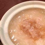 頂上麺 筑紫樓 ふかひれ麺専門店 フカヒレと蟹肉の煮込みご飯