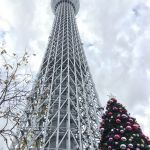 東京スカイツリーにクリスマスツリーが登場